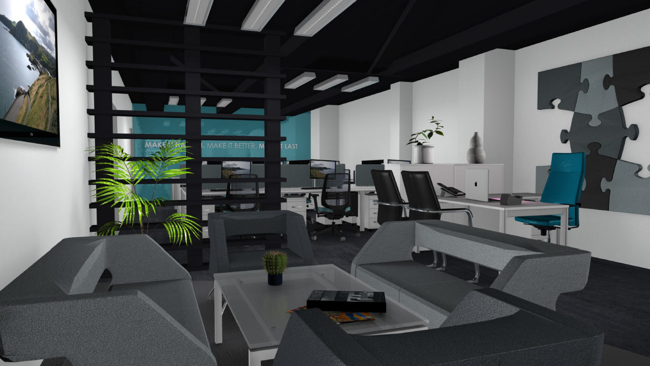 Home Office Design Belfast Office Interiors Belfast Fit